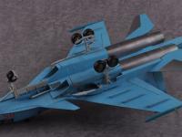 Russian Su-34 Fullback Fighter-Bomber (Vista 12)