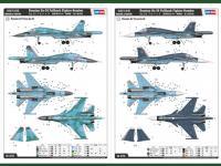 Russian Su-34 Fullback Fighter-Bomber (Vista 14)