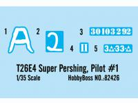 T26E4 Super Pershing, Pilot #1  (Vista 4)