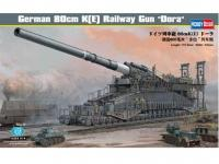 German 80cm K(E) Railway Gun  (Vista 3)