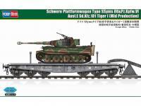 Schwere Plattformwagen Type SSyms 80&Pz.Kpfw.VI Ausf.E Sd.Kfz.181 Tiger I (Vista 4)