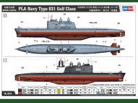 PLA Navy Type 031 Golf Class (Vista 5)