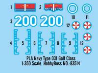 PLA Navy Type 031 Golf Class (Vista 6)