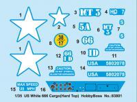 Camión pesado americano White 666 (Vista 6)