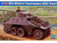 Blindado alemán de ruedas M35 (Vista 4)