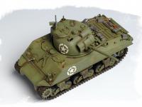 U.S M4A3 Medium Tank (Vista 10)