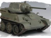 Russian T-34/76 Tank 1943 (Vista 9)