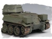 Russian T-34/76 Tank 1943 (Vista 14)