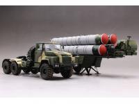 Tractor ruso KrAZ-260B con lanzacohetes  (Vista 22)