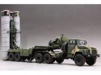 Tractor ruso KrAZ-260B con lanzacohetes  (Vista 16)