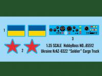 """Ukraine KrAZ-6322 """"Soldier"""" Cargo Truck (Vista 6)"""