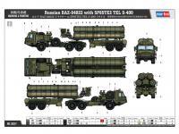 BAZ-64022 avec Missiles 5P85TE2 TEL. S-4 (Vista 8)