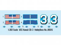 USS Hawai CB-3 - US Navy Heavy Cruiser 1 (Vista 5)