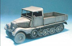 German Sd.Kfz.11/1 Half Truck (LATE TYPE  (Vista 1)