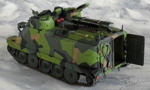 Swedish Epbv 3022 Fire Control Vehicle  (Vista 3)