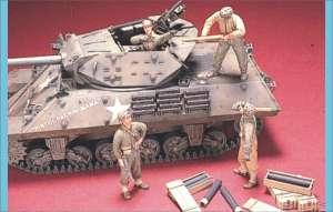 U.S. M10/M18 Tank Crew 4 fig. & Supplies  (Vista 1)
