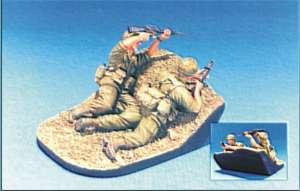 Fire Team 1969-72 2 Figs w/ Base  (Vista 1)