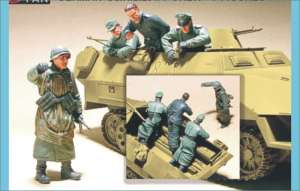 German Sd.Kfz.251/1 Crew  (Vista 1)