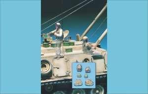 U.S. Tank Crew Operaton Iraqi Freedom 2  (Vista 1)