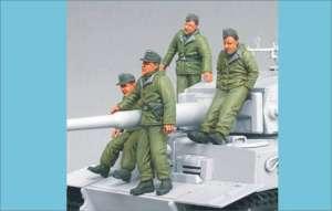 Waffen SS Tiger I crew (Eastern front)  (Vista 1)