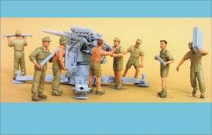Flak 18 Crew (Afrika Korps) 8 Figures  (Vista 1)