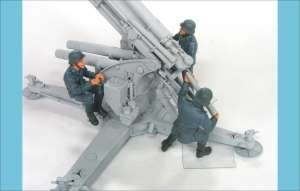 88mm Flak Crew set 2  (Vista 1)