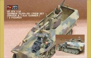 Sd.Kfz.251 Crew set  - Ref.: HFAN-35574