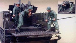US M40 Gun Motor Carriage Crew in Korean  (Vista 2)