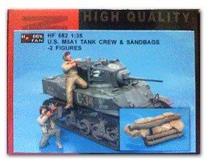US M5A1 Tank Crew & Sandbags - Ref.: HFAN-35582