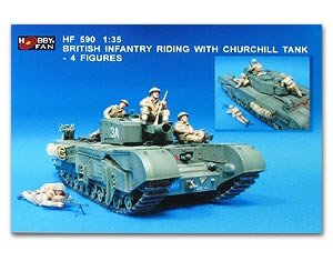 Bristish Infantry Riding with Churchill - Ref.: HFAN-35590