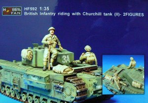 Bristish Infantry Riding with Churchill  (Vista 1)