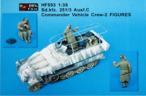 Sd.Kfz. 251/3 Ausf C Commander Vehicle C  (Vista 1)
