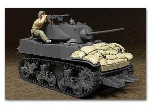 U.S. M5A1 Tanquista y pertrechos  (Vista 1)