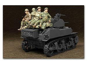 U.S. M5A1 Tank Infantry  (Vista 1)