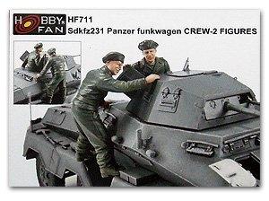 Sd.kfz231 Panzer Funkwagen Crew  (Vista 1)