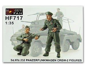Sd.Kfz.232 Panzerfunkwagen Crew  (Vista 1)