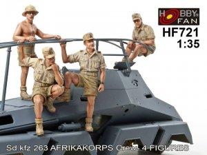 Sd.Kfz.263 Afrikakorps Crew  (Vista 1)