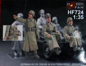German VK128 Crews in Eastern Front   (Vista 1)