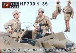 Sd.Kfz.233 Afrikakorps Crew  (Vista 1)