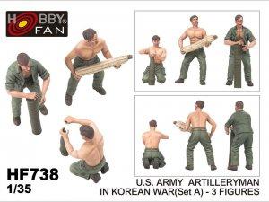 U.S. Army Artillerymen in Korean War  (Vista 1)