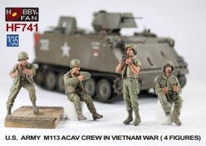 US Army M113 ACAV Crew in Vietnam War  (Vista 1)