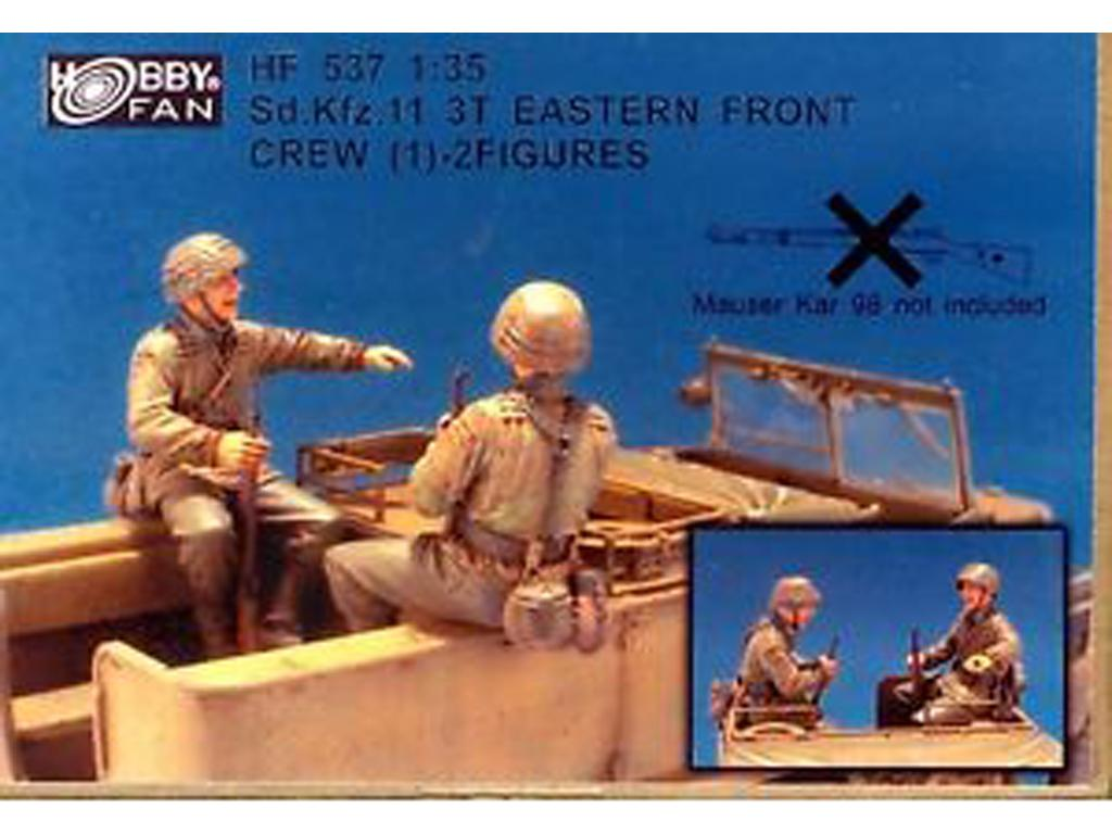 Sd.Kfz.11 Crew 3T Eastern Front Crew - 2 (Vista 1)
