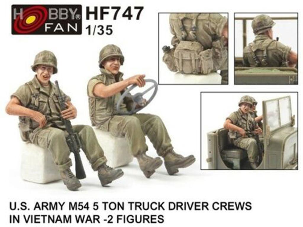 US Army M54 5t Truck Driver Crews  (Vista 1)