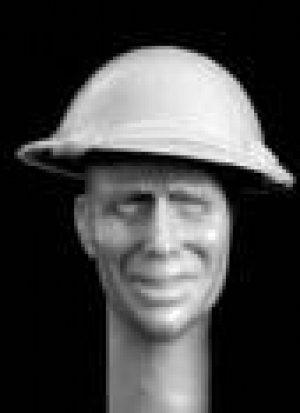 Cabezas Británicas con casco acero  (Vista 2)