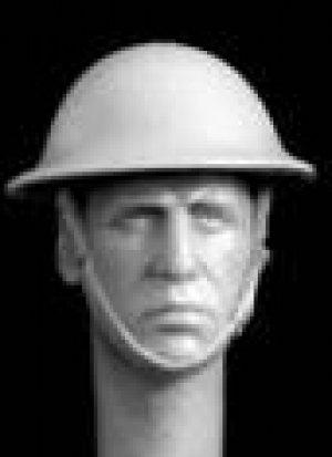 Cabezas Británicas con casco acero  (Vista 4)