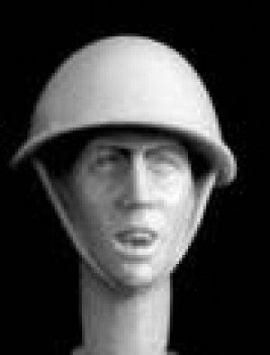 Cabezas Británicas con casco acero  (Vista 5)