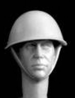 Cabezas Británicas con casco acero  (Vista 6)