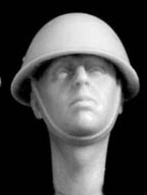 Cabezas británicas con casco mod. Mk.II  (Vista 4)