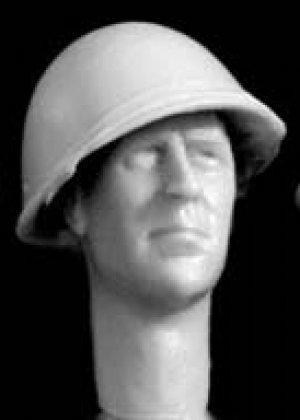 Cabezas británicas con casco mod. Mk.II  (Vista 5)