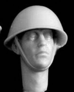 Cabezas británicas con casco mod. Mk.II  (Vista 6)